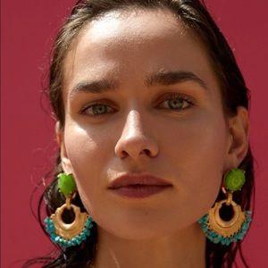 Zara Gold Drop Earrings
